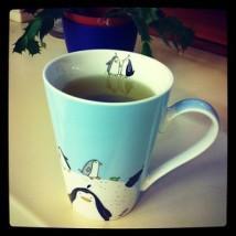 Tee trinken und entspannen